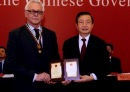 Scientist recognised for relationship with China