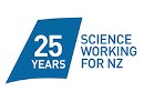 25 years of science working for New Zealand